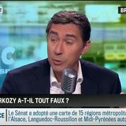 Brunet & Neumann: Avec la baisse de sa cote de popularité, Nicolas Sarkozy a-t-il tout faux ?
