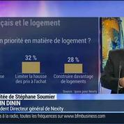 Baromètre Ipsos / Nexity: Le logement occupe le dernier rang des préoccupations des Français: Alain Dinin –