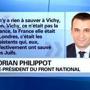 Régime de Vichy: le sujet qui divise au FN
