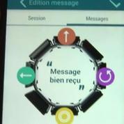 Un bracelet pour communiquer par vibrations