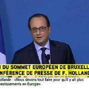 Hollande refuse de commenter les divergences au sein du PS