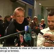 Les journalistes français arrêtés en Indonésie de retour en France