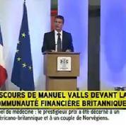 Valls à la City,