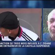 Football / Levée provisoire de la sanction de Zidane