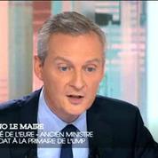 Bruno Le Maire : « Je ne suis pas candidat pour négocier un poste »