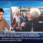 Politique Première: Est-ce que le Parti socialiste est prêt à suivre Manuel Valls ?