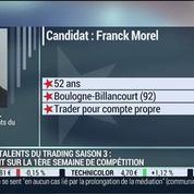 Les Talents du Trading, saison 3: Franck Morel et Jérôme Vinerier, dans Intégrale Bourse