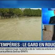 BFM Story: Intempéries: le département du Gard placé en alerte rouge