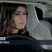 La présentation de la Tesla P 85 D