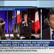 Meeting de Nicolas Sarkozy: Les commentaires d'Anna Cabana, David Revault d'Allonnes, Bruno Jeudy et Thierry Arnaud 3/4