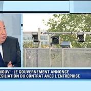 Ecomouv': Larcher dénonce l'improvisation du gouvernement