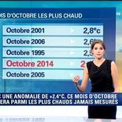Météo: le quatrième plus chaud mois d'octobre en France