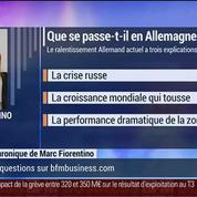 Marc Fiorentino: L'Allemagne enchaîne les contre-performances –