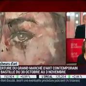 Chercheurs d'Art : Le grand marché d'art contemporain revient à la place de la Bastille (1/2)
