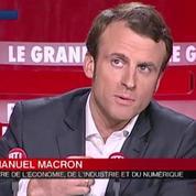 Emmanuel Macron est