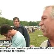 Barrage de Sivens : pour José Bové