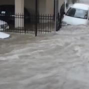 Inondations impressionantes à Athènes