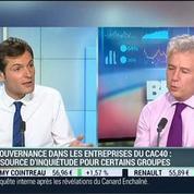 La gouvernance dans les entreprises du CAC 40: Frédéric Genevrier –