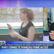 CES Unveiled: Cityzen Sciences primé pour son T-Shirt connecté