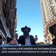 Cancer de la prostate : la campagne de prévention sexy d'une New-Yorkaise