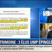 BFM Story: Déclarations de patrimoine: trois parlementaires UMP dans le viseur de la justice (1/2)