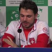 Tennis / Coupe Davis Wawrinka bourré en conférence de presse