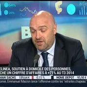 Bluelinea : 71% de croissance du chiffre d'affaires au troisième trimestre 2014 : Laurent Levasseur
