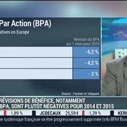 Bilan de l'évolution des indices boursiers européens: Éric Galiègue –
