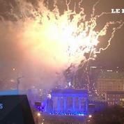 Laché de ballons pour commémorer la chute du Mur de Berlin