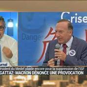 La suppression de l'ISF : un match Gattaz vs Macron