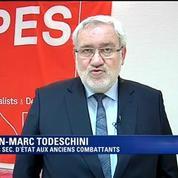 Jean-Marc Todeschini, futur secrétaire d'Etat aux anciens combattants: C'est un privilège