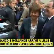 François Hollande hué à Lille