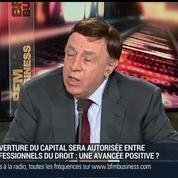 Daniel-Julien Noel, président de la Chambre nationale des professions libérales (2/3)