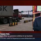 Matthias Fekl, secrétaire d'Etat chargé du Commerce extérieur, de la promotion du Tourisme et des Français de l'étranger (1/3) –