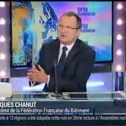 Plan Juncker: Il faut chercher des financements européens pour relancer le secteur du bâtiment: Jacques Chanut