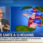 BFM Story: Réforme territoriale: la carte des 13 régions adoptée par l'Assemblée nationale