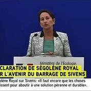 Sivens : Royal a demandé aux associations l'évacuation du terrain