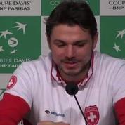 Tennis / Coupe Davis Wawrinka : Je suis en confiance