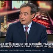 Bruno Lafont, président directeur général de Lafarge (1/3)
