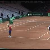 Tennis / Coupe Davis : On s'oriente vers un Gasquet/Tsonga contre Federer/Wawrinka