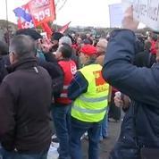 Florange: les agriculteurs répandent du fumier pour interpeller François Hollande