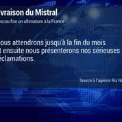 Mistral: les Russes fixent un délai à la France pour sa livraison