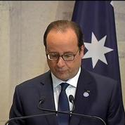 Hollande: Thank you Australia