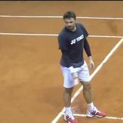 Tennis / Wawrinka se réadapte à la terre battue