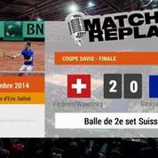 Tennis / Coupe Davis : le MatchReplay du double France-Suisse