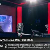 Le parti pris d'Hervé Gattegno : Mariage pour tous : Nicolas Sarkozy a changé d'avis, ça va lui coûter cher !