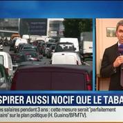 BFM Story: La pollution parisienne aussi nocive que le tabagisme passif