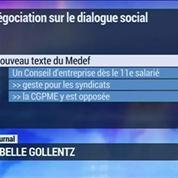 Seuils sociaux: le Medef révise sa position