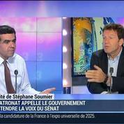 Le Sénat abroge le compte pénibilité: les patrons n'en peuvent plus !: Geoffroy Roux de Bézieux
