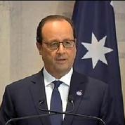 Hollande : «Thank you Australia»